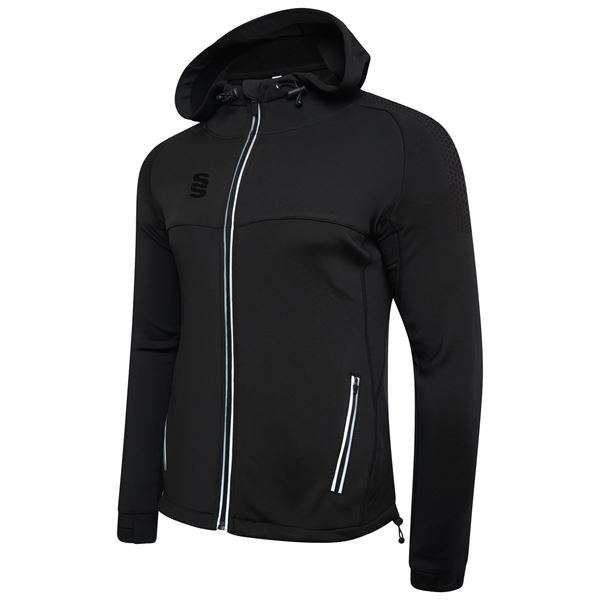 Picture of Dual Full Zip Hoody - Black