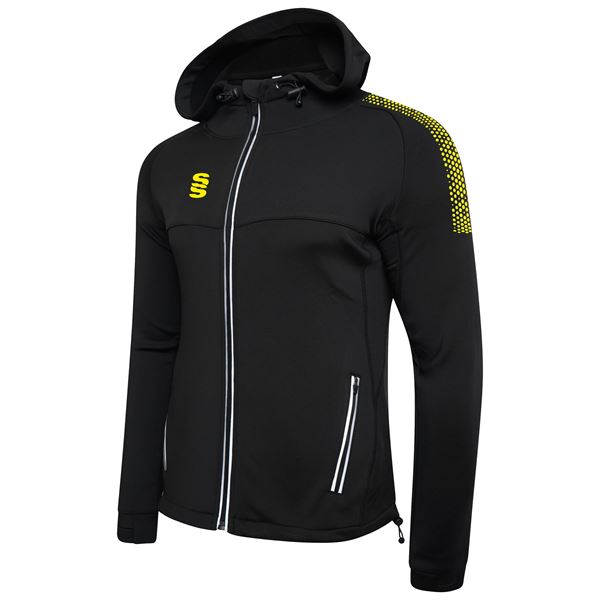 Bild von Dual Full Zip Hoody - Black/Yellow