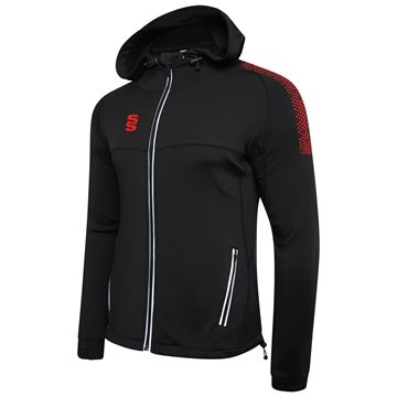 Bild von Dual Full Zip Hoody - Black/Red