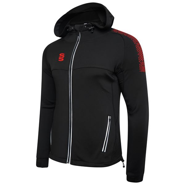 Picture of Dual Full Zip Hoody - Black/Red