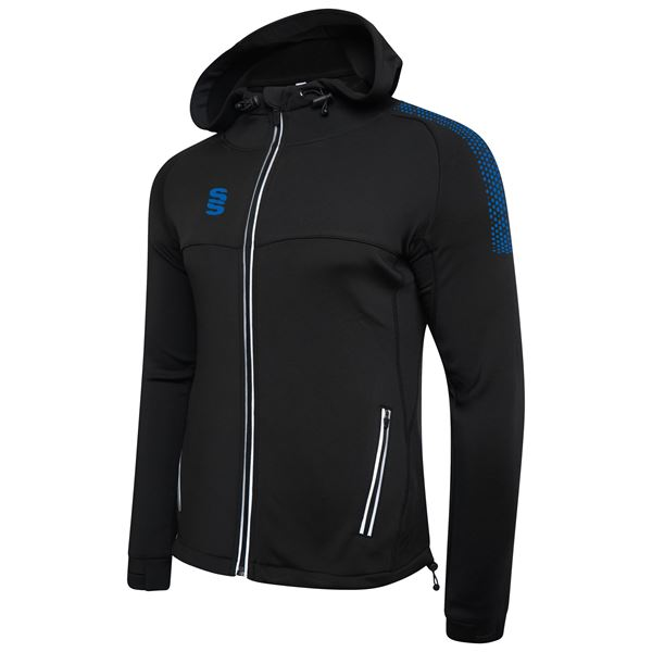 Image sur Dual Full Zip Hoody - Black/Royal