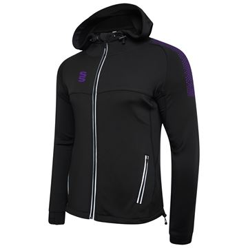 Bild von Dual Full Zip Hoody - Black/Purple