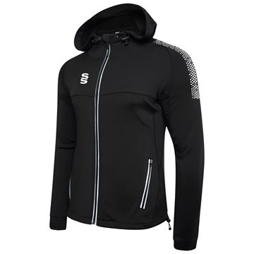 Image de Dual Full Zip Hoody - Black/White
