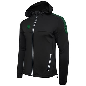 Imagen de Dual Full Zip Hoody - Black/Bottle