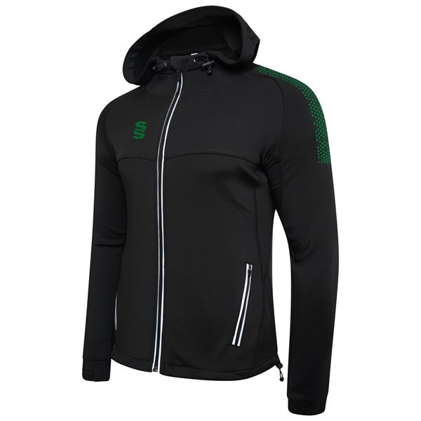 Image sur Dual Full Zip Hoody - Black/Bottle
