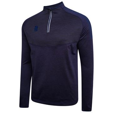 Afbeeldingen van 1/4 Zip Dual Performance Top - Navy