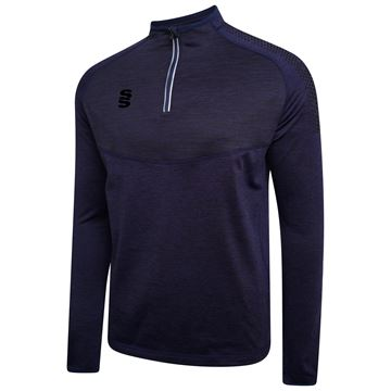 Afbeeldingen van 1/4 Zip Dual Performance Top - Navy/Black