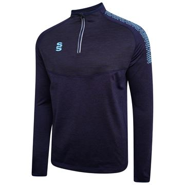 Image de 1/4 Zip Dual Performance Top - Navy/Sky