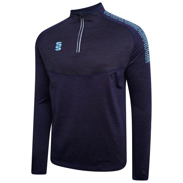 Imagen de 1/4 Zip Dual Performance Top - Navy/Sky