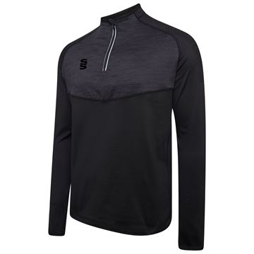 Image de 1/4 Zip Dual Performance Top - Black