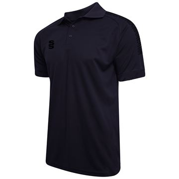 Bild von Dual Solid Colour Polo - Navy/Black