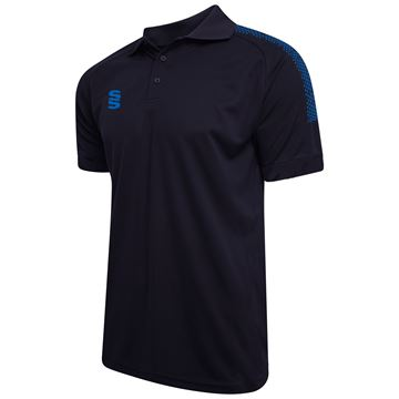 Image de Dual Solid Colour Polo - Navy/Royal