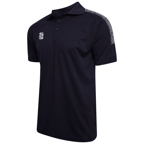 Image sur Dual Solid Colour Polo - Navy/Silver