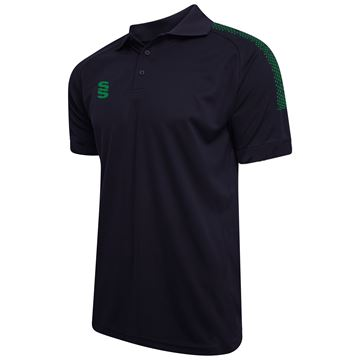 Bild von Dual Solid Colour Polo - Navy/Bottle
