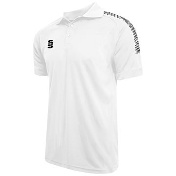Imagen de Dual Solid Colour Polo - White/Black