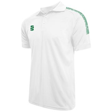 Imagen de Dual Solid Colour Polo - White/Bottle