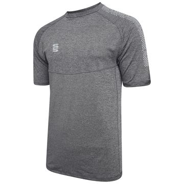 Picture of Dual Gym T-Shirt- Grey Melange