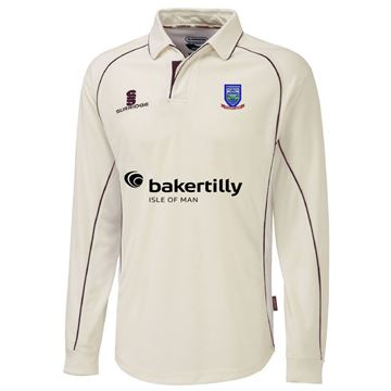 Picture of Cronkbourne Cricket Club Premier Long Sleeved Cricket Shirt