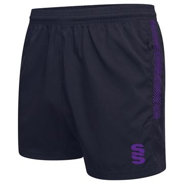 Picture of Performance Gym Short - Navy/Purple