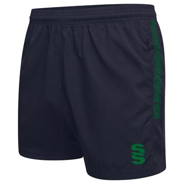 Afbeeldingen van Performance Gym Short - Navy/Bottle