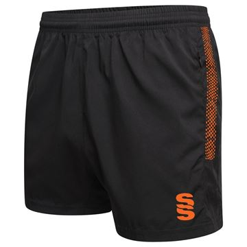 Picture of Performance Gym Short - Black/Orange