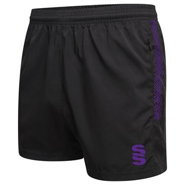 Picture of Performance Gym Short - Black/Purple