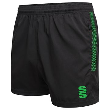 Afbeeldingen van Performance Gym Short - Black/Emerald