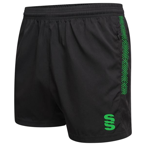 Image sur Performance Gym Short - Black/Emerald