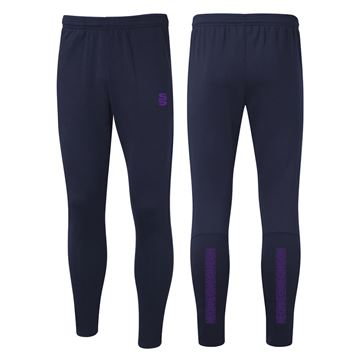 Bild von Performance Skinny Pant - Navy/Purple