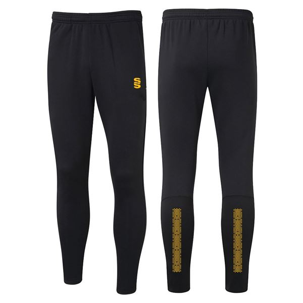 Picture of Performance Skinny Pant - Black/Amber