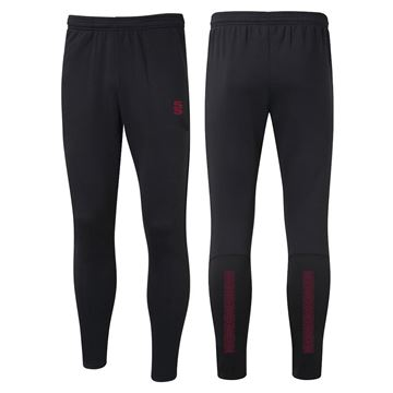 Picture of Performance Skinny Pant - Black/Maroon