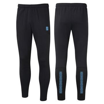 Picture of Performance Skinny Pant - Black/Sky