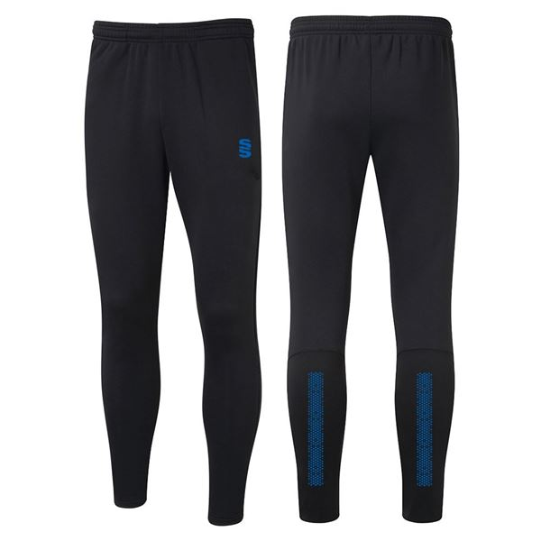 Picture of Performance Skinny Pant - Black/Royal