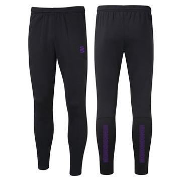 Bild von Performance Skinny Pant - Black/Purple