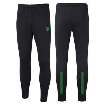 Bild von Performance Skinny Pant - Black/Emerald