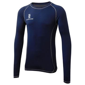 Image de Papplewick & Linby CC Navy L/S Baselayer