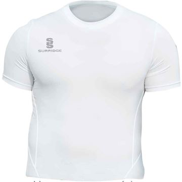 Image de Papplewick & Linby CC White S/S Baselayer