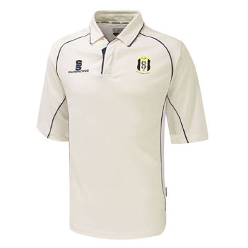 Picture of South Hampstead CC Premier 3/4 Sleeve Navy Trim Shirt
