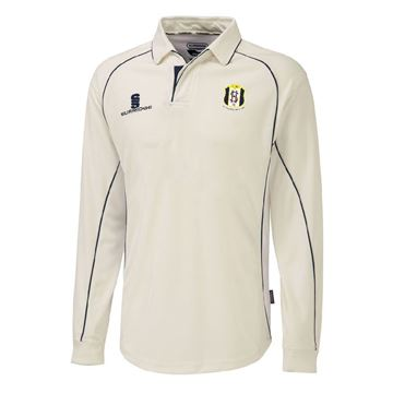 Picture of South Hampstead CC Premier Long Sleeve Navy Trim Shirt