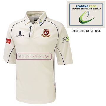Picture of Cleckheaton CC Premier 3/4 short sleeve shirt