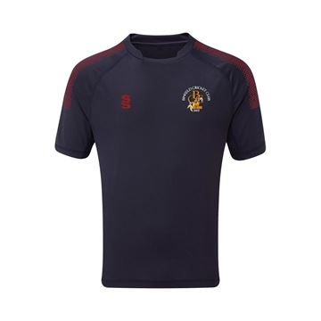 Picture of Binfield CC Dual Game Shirt- Navy/Maroon