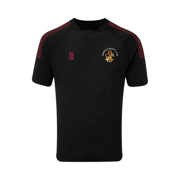 Picture of Binfield CC Dual Game Shirt- Black/Maroon