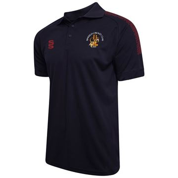 Picture of Binfield CC Navy Dual Polo Shirt