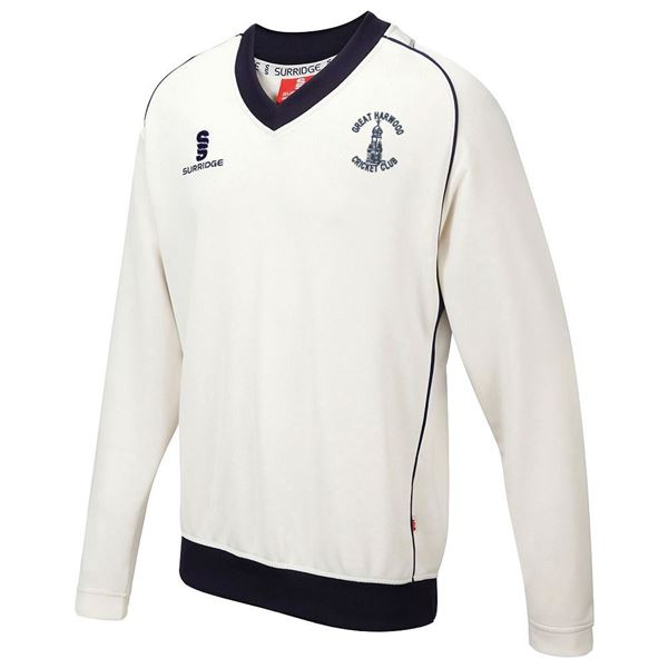 Bild von Great Harwood CC Senior Long Sleeved Sweater
