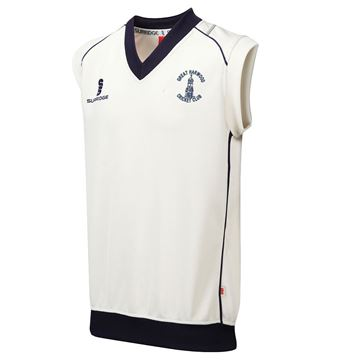 Picture of Great Harwood CC Senior Sleeveless Sweater