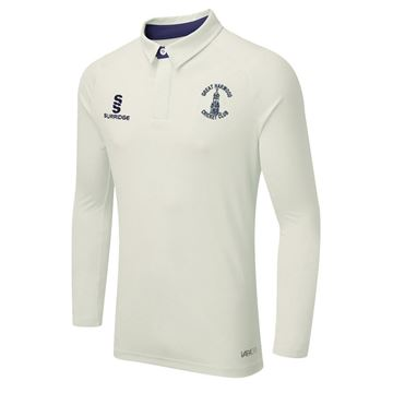 Picture of Great Harwood CC Senior Ergo Long Sleeved playing shirt