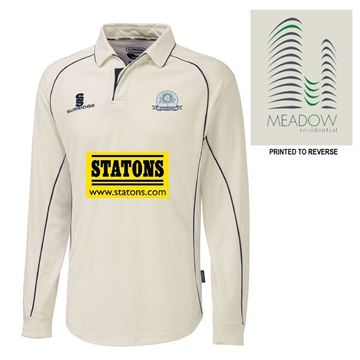 Imagen de Totteridge Millhillians Cricket Club premier long sleeve shirt
