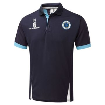 Image de Riding Mill Cricket Club Blade Polo Navy/Sky/White