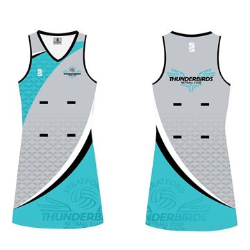 Bild von Stratford Thunderbirds Netball Club Netball Dress - Longer Length