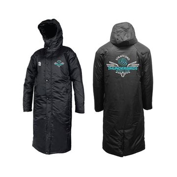 Bild von Stratford Thunderbirds Netball Club Bench Jacket